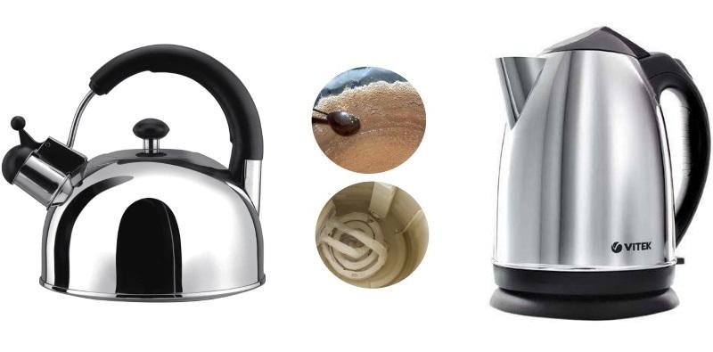 Как очистить чайник от накипи: 4 самых эффективных способа