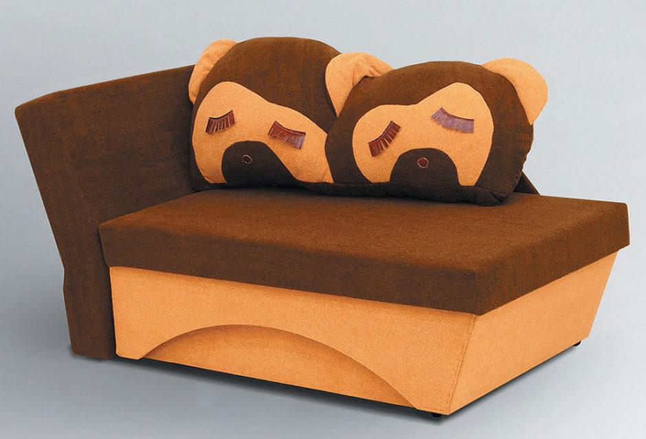 Кресло-диван с вместительным местом для хранения