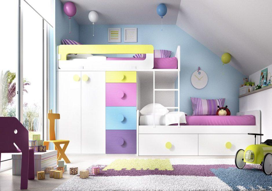 Ящики и шкафчики решают проблему хранения игрушек