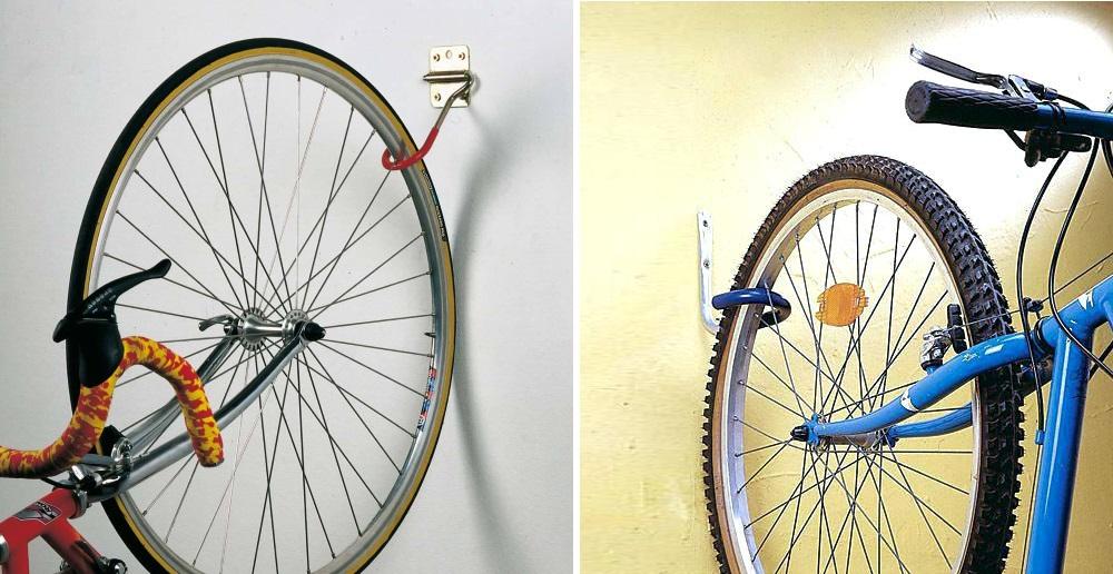 От долгого нахождения байка в таком положении колесо может вытянуться, в народе это явление — «яйцо»