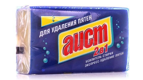 Мыло для удаления пятен «Аист» 2 в 1