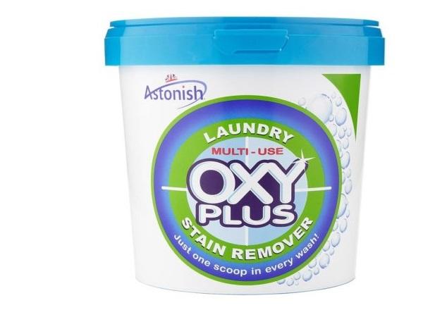 Универсальный пятновыводитель Astonish OXY PLUS. Средняя цена от 580 ₽