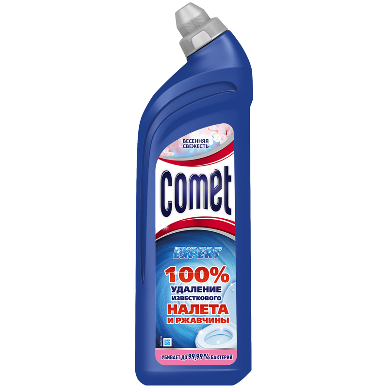 Comet — средство для уборки и дезинфекции унитаза. Цена — около 185 рублей