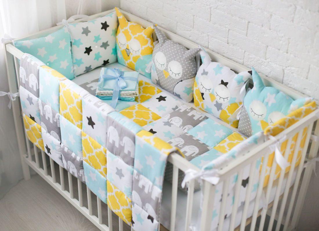 Как стирать бортики от детской кроватки