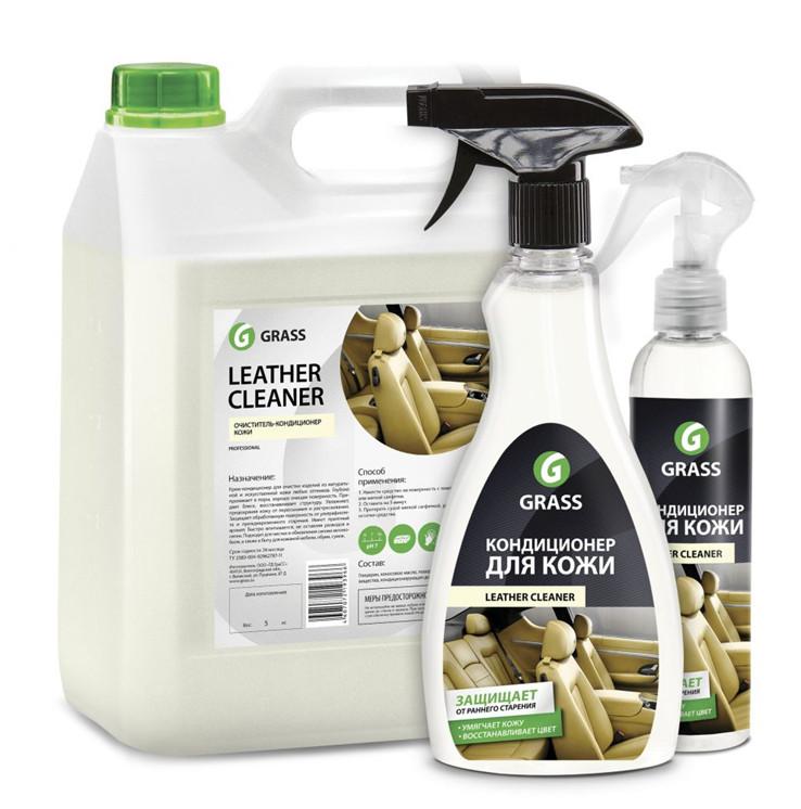 Средство для ухода за кожаной мебелью — «Leather Cleaner. Кондиционер для кожи». Цена — около 260 рублей