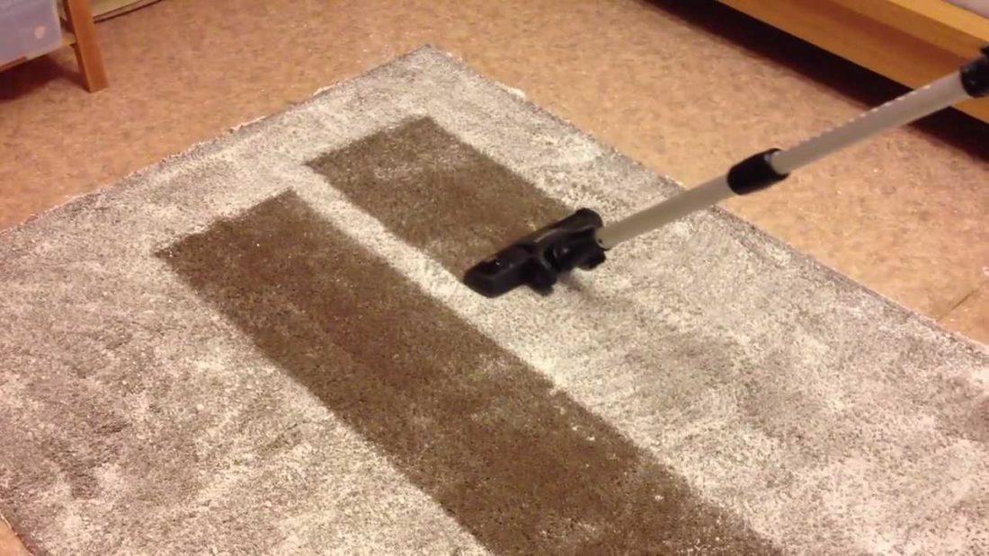 Ваниш для чистки ковров: способ применения