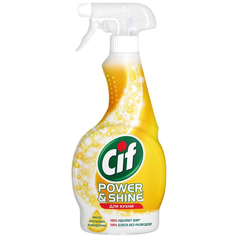 Чистящее средство-спрей «Cif Power» & Shine