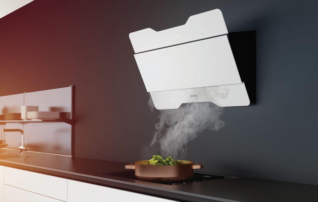 Чтобы дом не пропитывался запахами еды, установите вытяжку на кухне, она поглощает и дым от сигарет