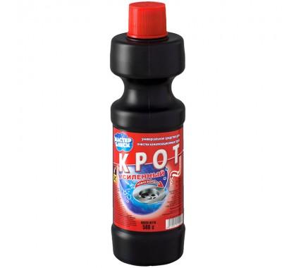 Средство 1. Крот — жидкость для очищения труб, выпускается в виде геля, жидкости и гранул.