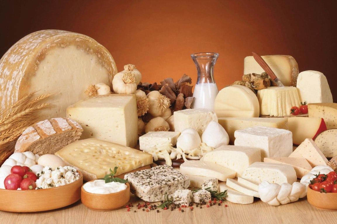 Для хранения молочных продуктов влажность воздуха — 90%