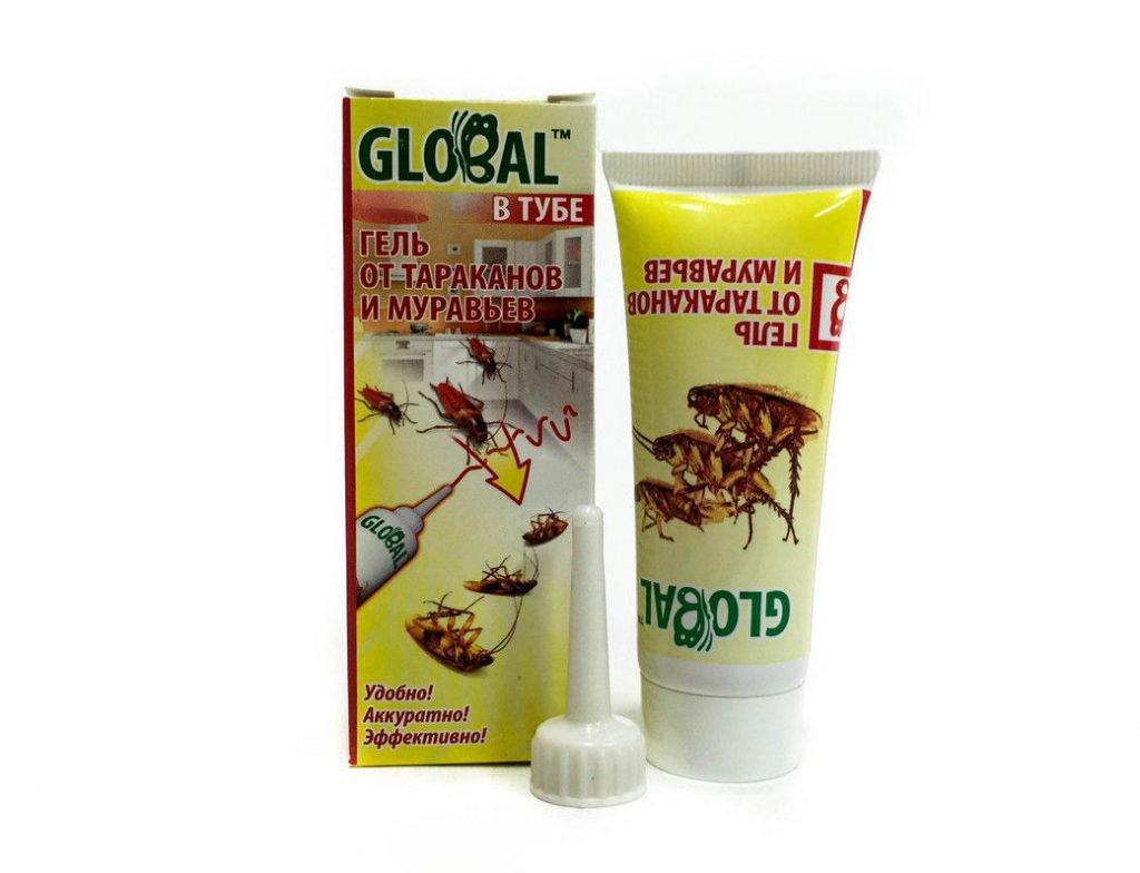 Global — гель для борьбы с тараканами и муравьями