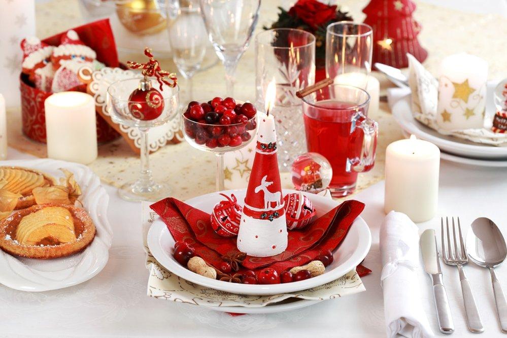 Новогодний декор стола