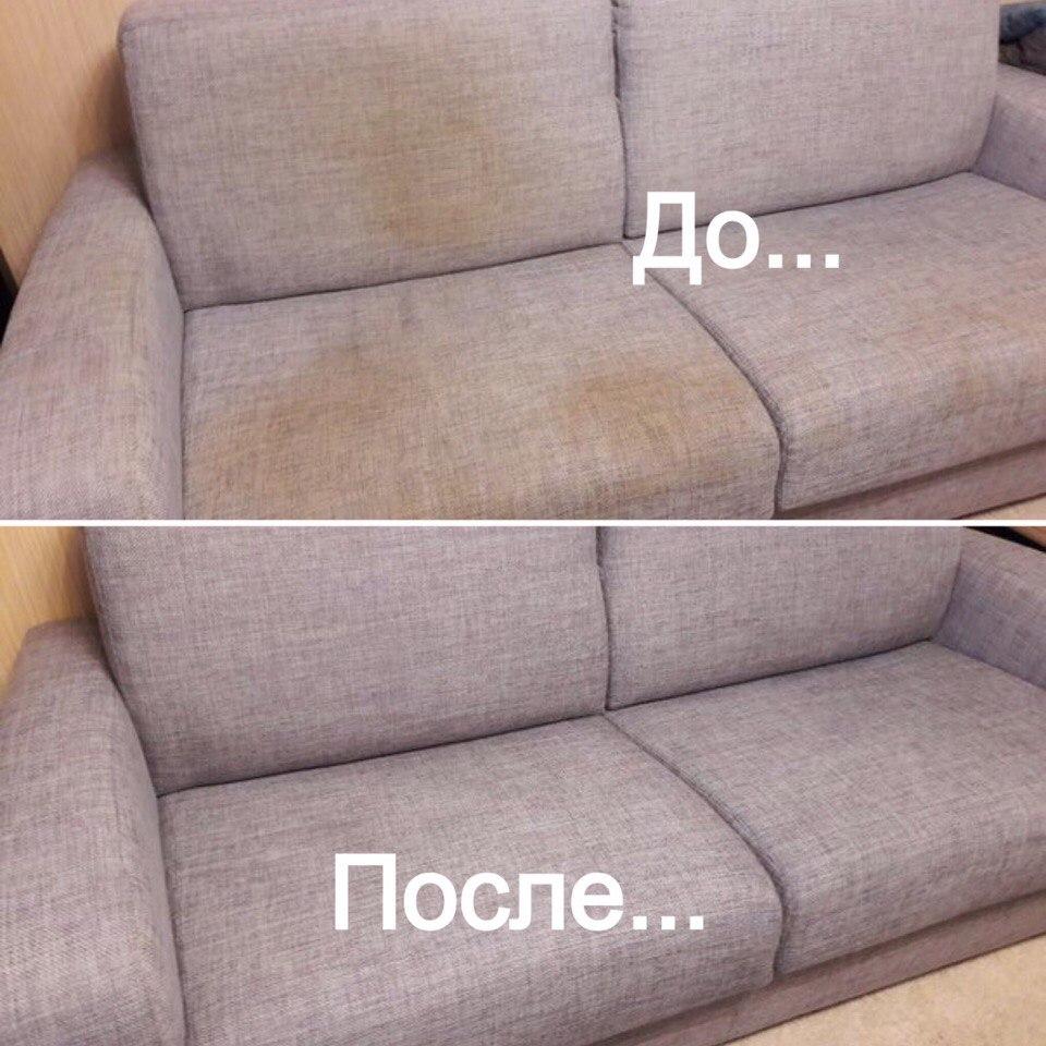 Вернуть дивану прежний вид помогут не только химические реагенты, но и бытовые приборы. Например, моющий пылесосос