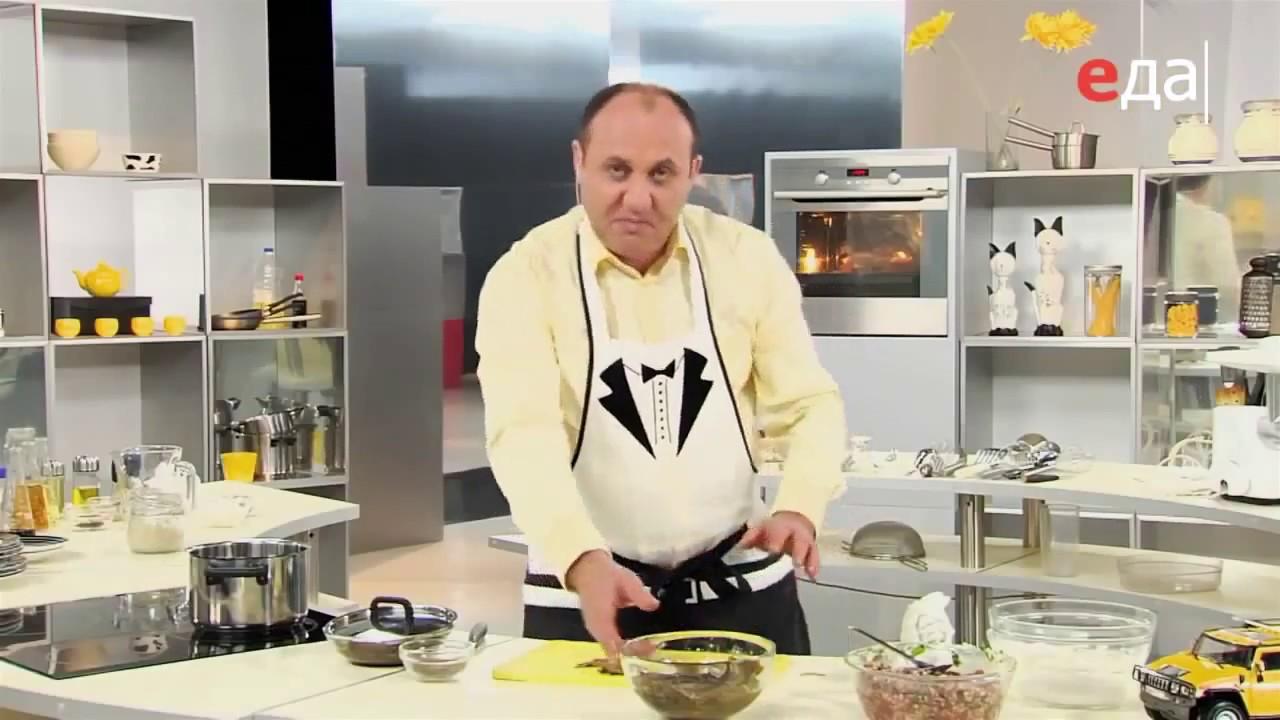 """Профессиональный повар и ведущий программы """"Еда"""" Илья Лазерсон делится советами заготовки"""