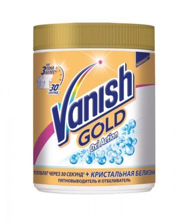 Vanish Oxi Action выводит любые пятна со всех типов ткани. Цена — около 500 ₽