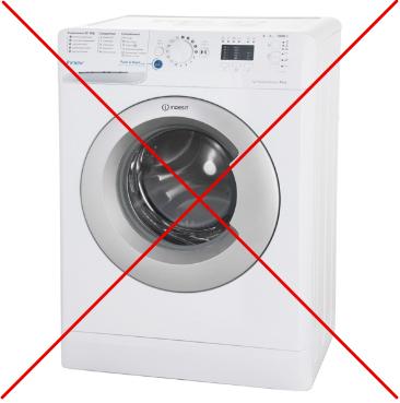 Замшу нельзя стирать в стиральной машине — вода испортит материал