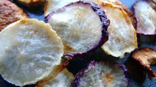 Сушёную редиску можно есть, как чипсы