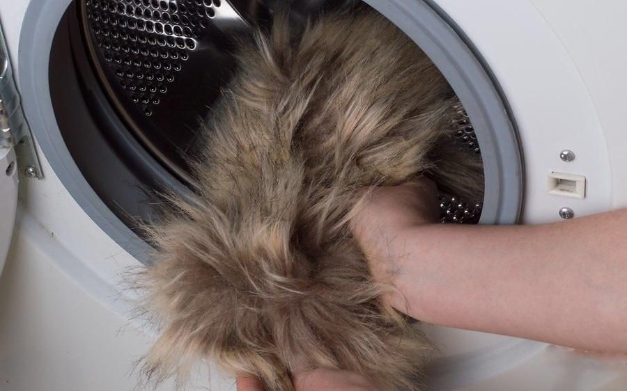 Как постирать искусственный мех в домашних условиях