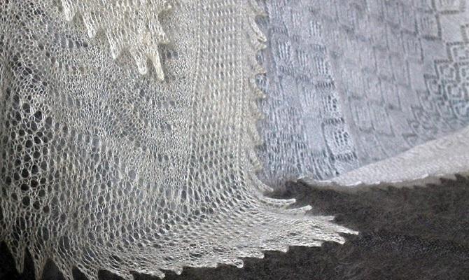Как отбелить пуховый платок в домашних условиях