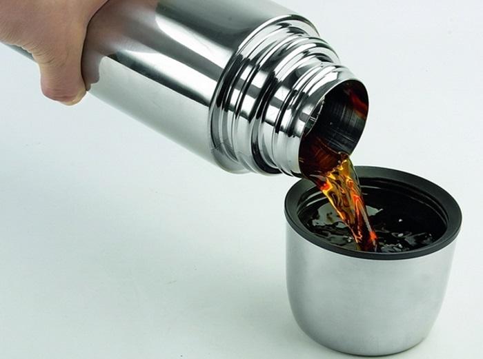 Налет в термосе чаще всего появляется при заваривании крепкого чая