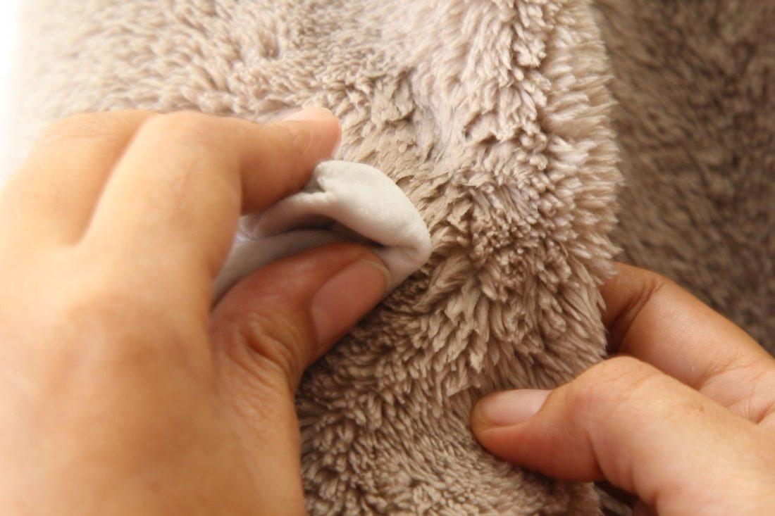 Как почистить мех в домашних условиях