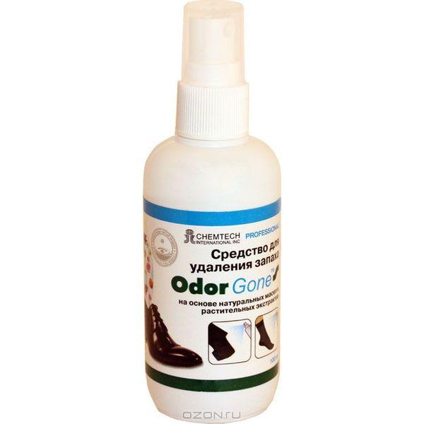 Odorgone — средство для устранения запаха из обуви