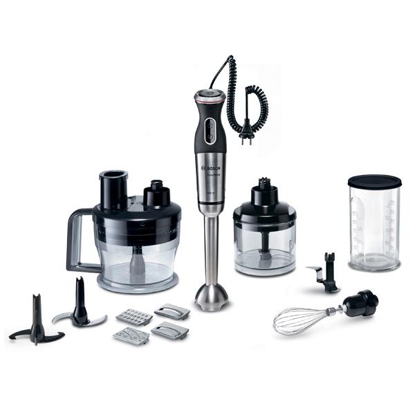 Насадки и чаши для погружного блендера позволяют взбивать, измельчать, смешивать и колоть продукты