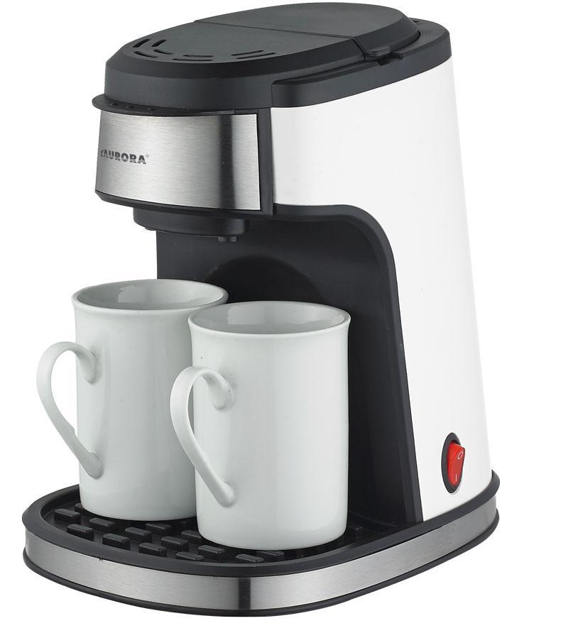 Некоторые модели кофеварок могут заваривать сразу две чашки напитка