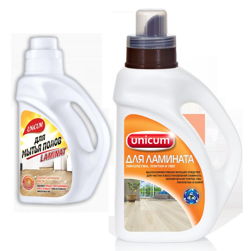 В водный резервуар пылесоса при мытье ламината добавляется специальное моющее средство
