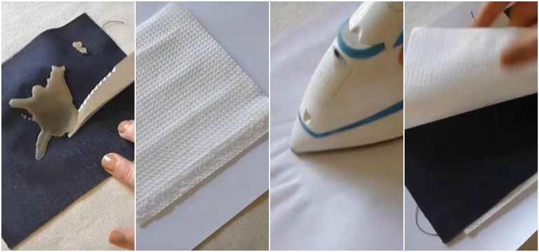 Как вывести воск с ткани в домашних условиях