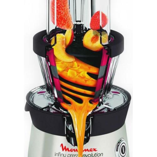 Шнековые соковыжималки готовят густой, концентрированный напиток, насыщенный мякотью. Большая часть овощей и фруктов с плотной структурой преобразуется в пюре. Из сочных ягод, содержащих до 90% воды, напиток получается средним по плотности