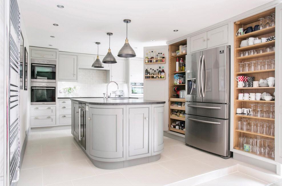 Размер и объем холодильника должен соответствовать общей площади помещения