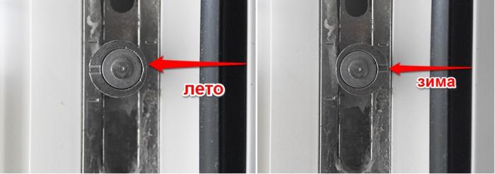 Не рекомендую постоянно держать окна на зимнем режиме. В жару уплотнительная резинка страдает от повышенного давления и быстрее изнашивается. Летний режим при морозной и ветреной погоде способствует потере тепла и появлению сквозняков. Но если регулировать окна на зиму и лето — это продлит срок службы стеклопакетов