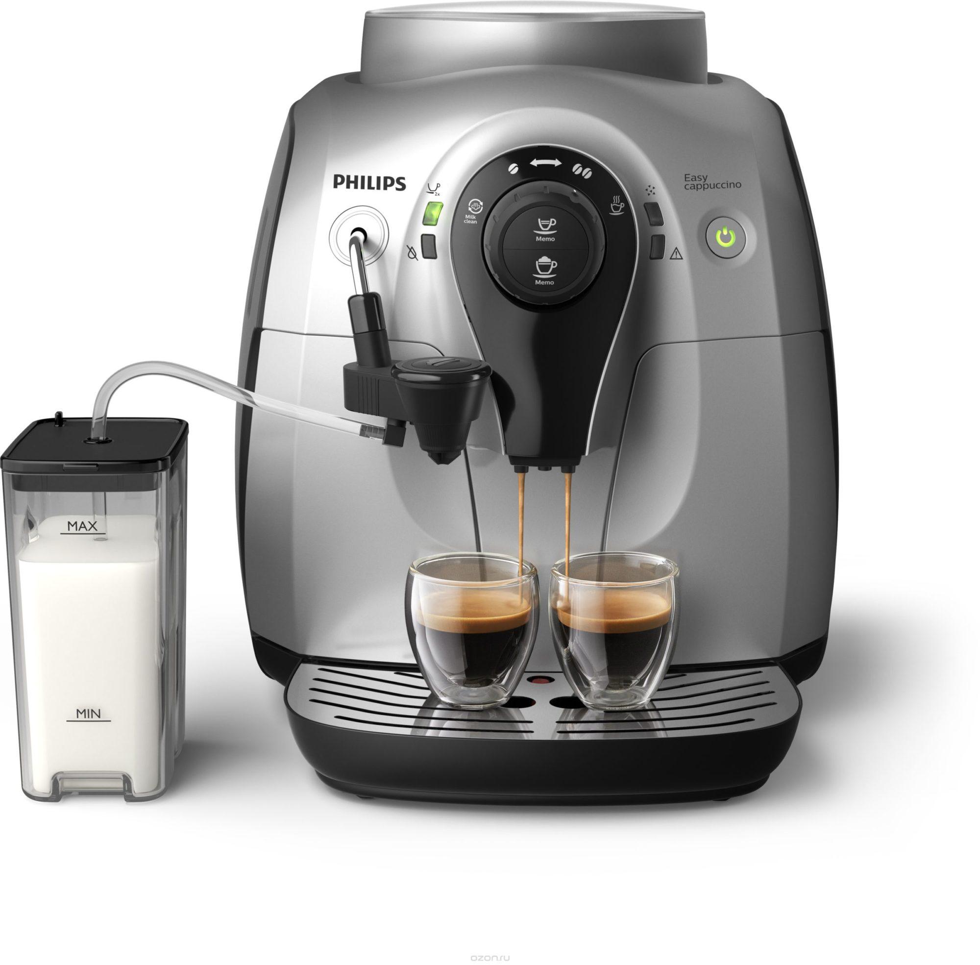 Кофемашина с приготовлением капучино может быть с разными функциями и насадками, но принципиального различия между готовым кофе вы не найдете