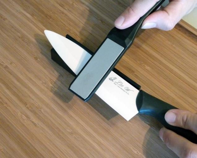 Хорошо заточенный керамический нож – лучший помощник на кухне