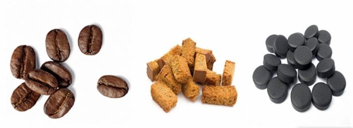 Успешно справляются с неприятными запахами кофейные зерна, таблетки активированного угля и сухари из черного хлеба. Засыпьте в термос небольшое количество одного из ингредиентов и оставьте на 12 часов