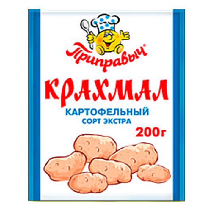 Крахмал — белый нерастворимый порошок, входит в состав картошки, помогает избавиться от расстройства желудка