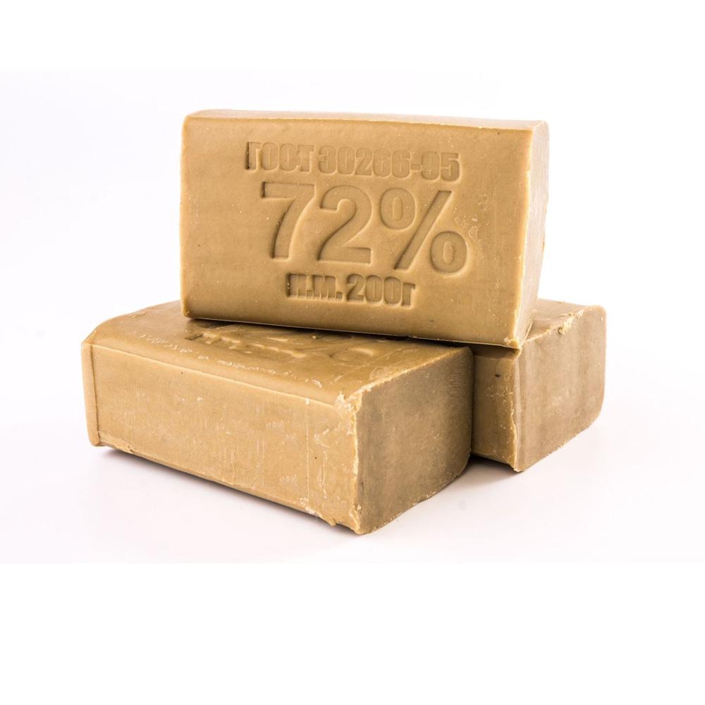 Берите хозяйственное мыло 72%, у него отбеливающий эффект